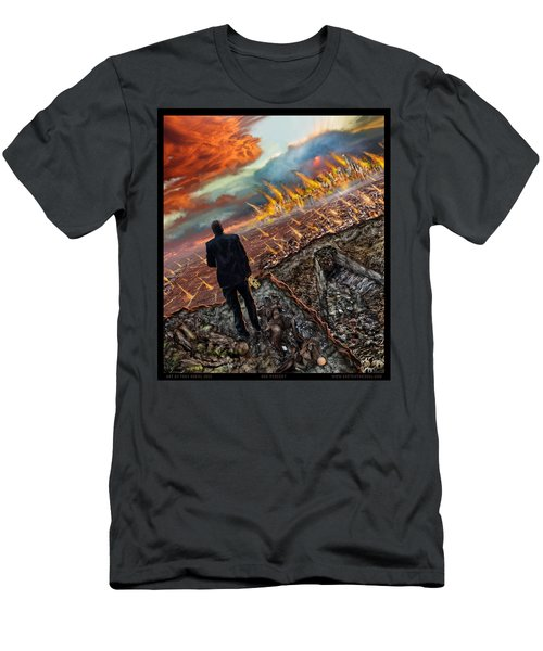 One Percent  Men's T-Shirt (Slim Fit) by Tony Koehl