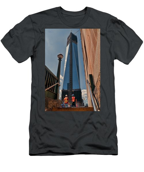 One Wtc First Look Men's T-Shirt (Athletic Fit)