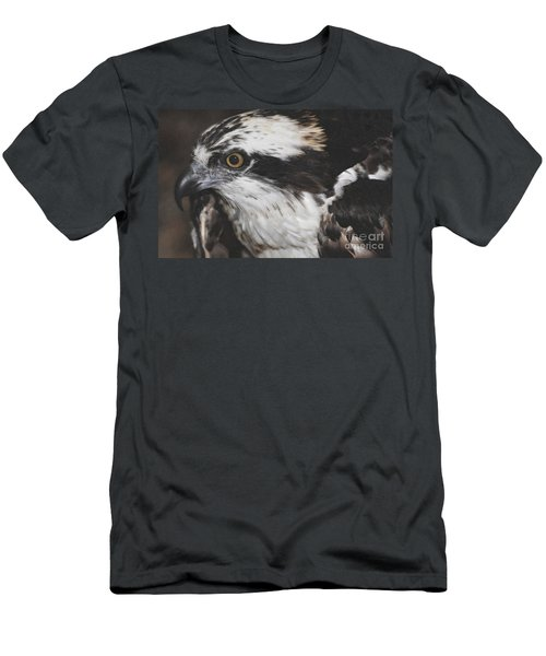 Men's T-Shirt (Slim Fit) featuring the photograph Osprey by Lydia Holly