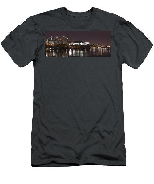 Men's T-Shirt (Slim Fit) featuring the photograph Ottawa Skyline by Eunice Gibb