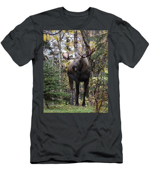Out In The Open Men's T-Shirt (Athletic Fit)