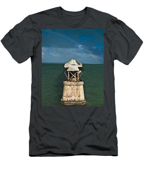 Overseas Railroad Men's T-Shirt (Athletic Fit)