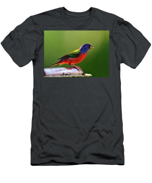 Painting Color Men's T-Shirt (Athletic Fit)
