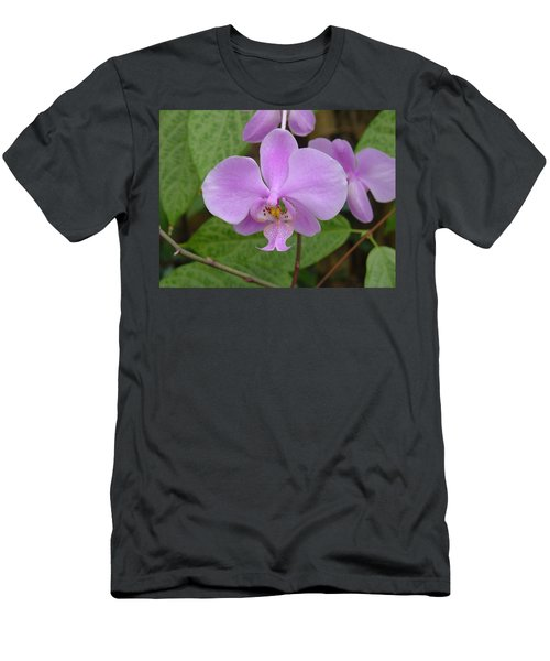Pale Pink Orchid Men's T-Shirt (Athletic Fit)