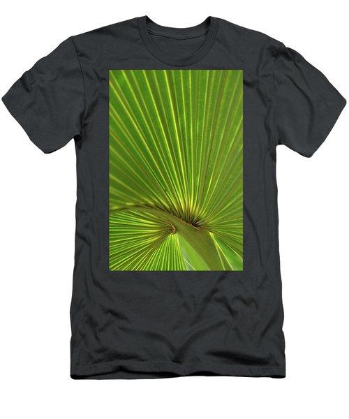 Palm Leaf Men's T-Shirt (Athletic Fit)