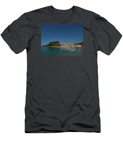 Parga  Men's T-Shirt (Slim Fit) by Jouko Lehto