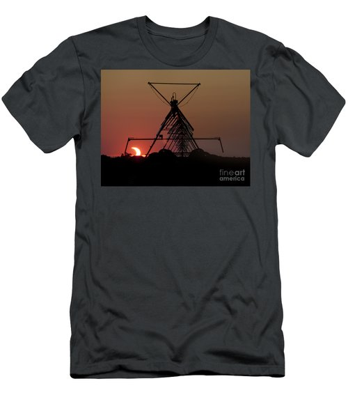 Partial Solar Eclipse Men's T-Shirt (Athletic Fit)