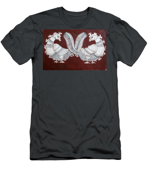 Peacocks Men's T-Shirt (Athletic Fit)