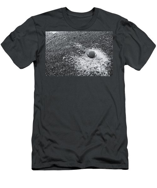 Pebble On Foam Men's T-Shirt (Athletic Fit)