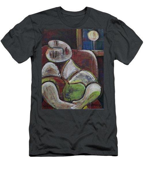 Picasso Dream For Luna Men's T-Shirt (Athletic Fit)