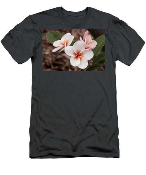 Plumeria   Kona Hawii Men's T-Shirt (Athletic Fit)
