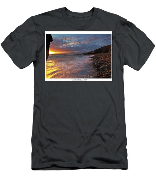 Porth Swtan Cove Men's T-Shirt (Athletic Fit)