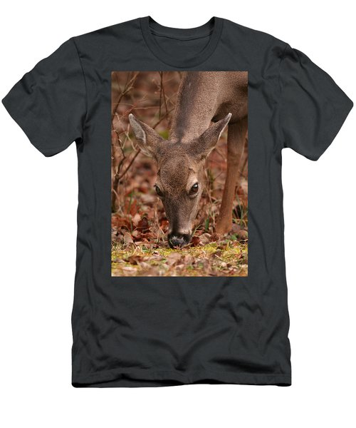 Portrait Of  Browsing Deer Two Men's T-Shirt (Athletic Fit)