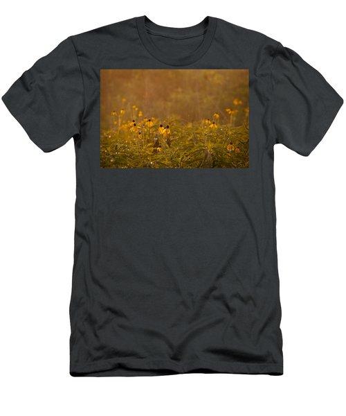 Prairie Wildflowers Men's T-Shirt (Athletic Fit)