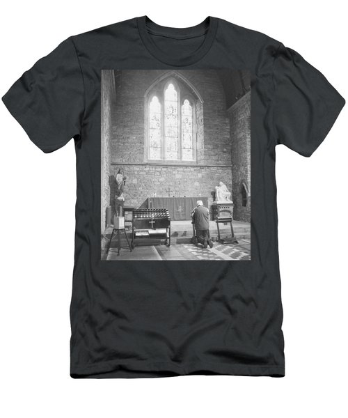 Men's T-Shirt (Slim Fit) featuring the photograph Prayer by Hugh Smith