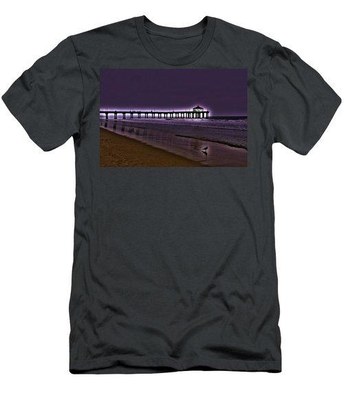 Purple Dawn Men's T-Shirt (Athletic Fit)
