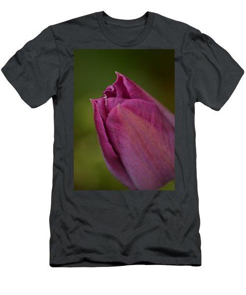 Purple Tulip Men's T-Shirt (Athletic Fit)