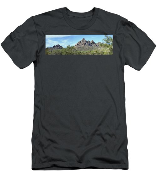 Ragged Top Mountain Panorama Men's T-Shirt (Athletic Fit)