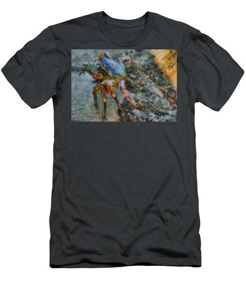 Rainbow Crab Men's T-Shirt (Athletic Fit)