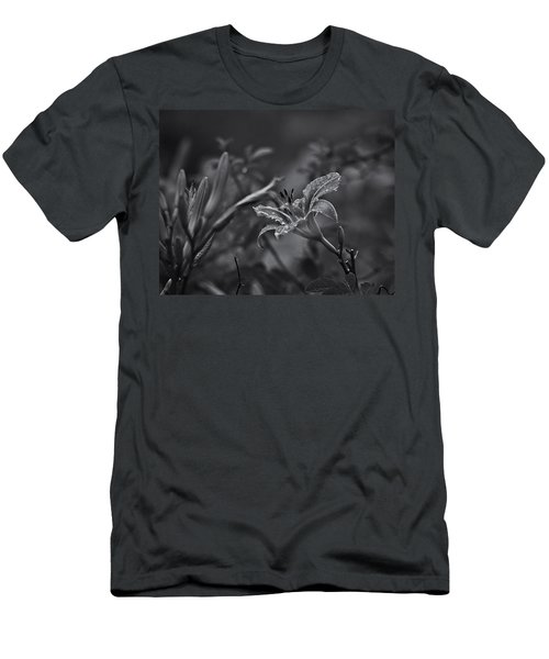 Rainy Day Lily Men's T-Shirt (Athletic Fit)