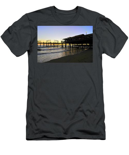 Redondo Pier South Men's T-Shirt (Athletic Fit)