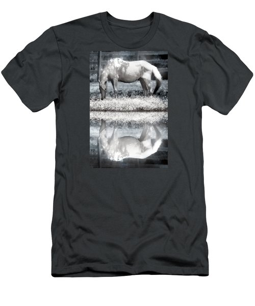 Men's T-Shirt (Slim Fit) featuring the digital art Reflecting Dreams by Mary Almond