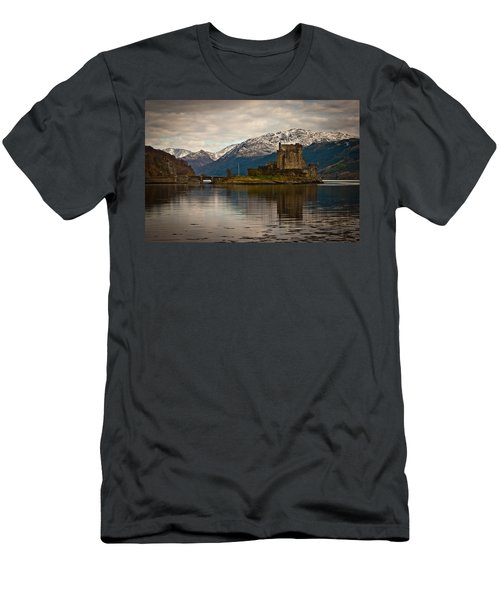 Reflection At Eilean Donan Men's T-Shirt (Athletic Fit)