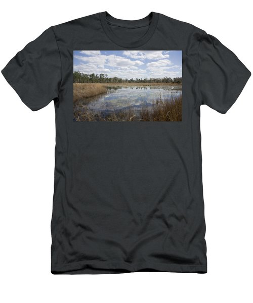 Men's T-Shirt (Slim Fit) featuring the photograph Reflections by Lynn Palmer
