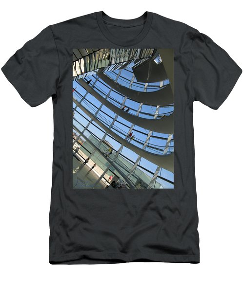 Reichstag Dome Men's T-Shirt (Athletic Fit)