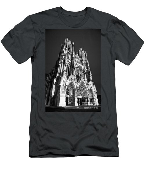Reims Cathedral Men's T-Shirt (Athletic Fit)