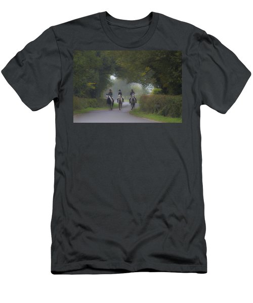 Riding In Tandem Men's T-Shirt (Athletic Fit)