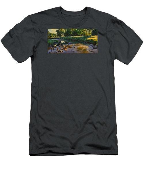 Riffles - First Light Men's T-Shirt (Slim Fit) by Bruce Morrison