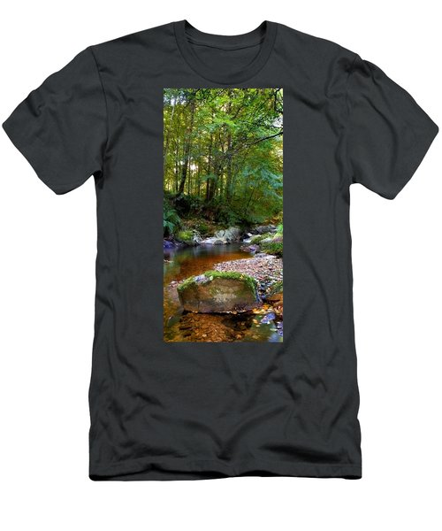 River In Cawdor Big Wood Men's T-Shirt (Athletic Fit)