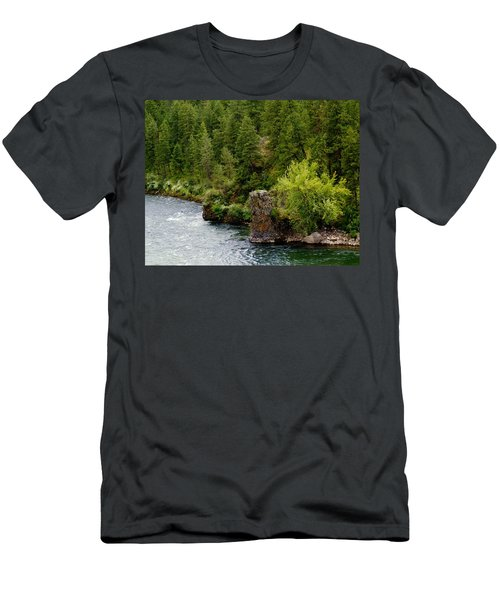 Rockin The Spokane River Men's T-Shirt (Athletic Fit)