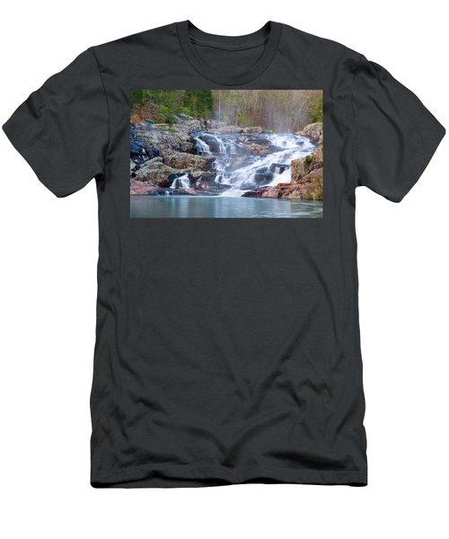 Rocky Falls Men's T-Shirt (Athletic Fit)