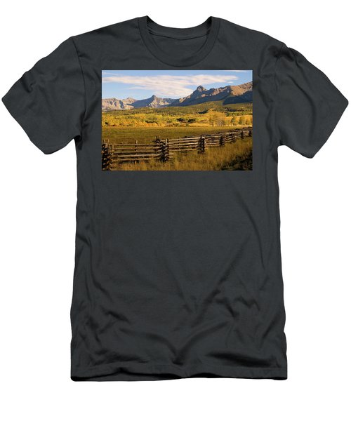 Rocky Mountain Ranch Men's T-Shirt (Athletic Fit)