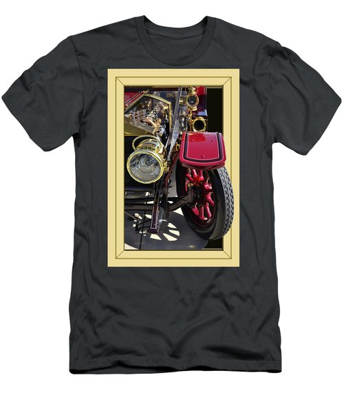 Men's T-Shirt (Slim Fit) featuring the photograph Rolls Out by Larry Bishop