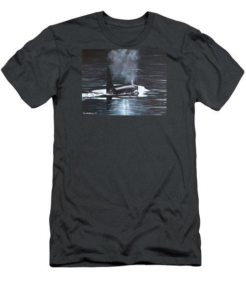 San Juan Resident Men's T-Shirt (Slim Fit) by Kim Lockman
