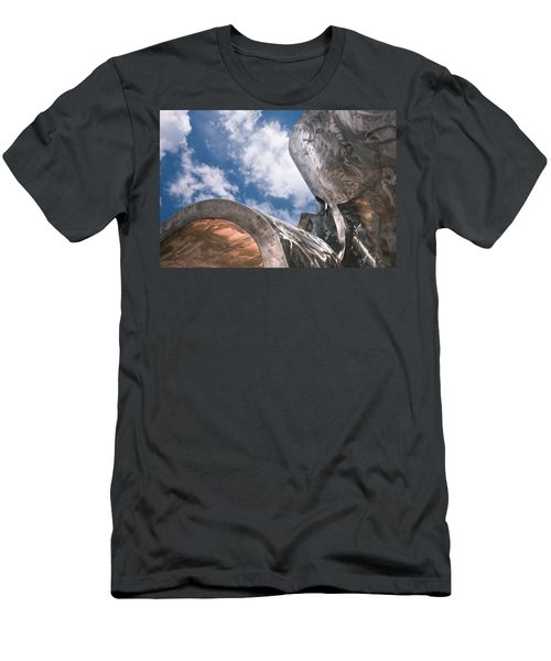 Men's T-Shirt (Slim Fit) featuring the photograph Sculpture And Sky by Tom Gort