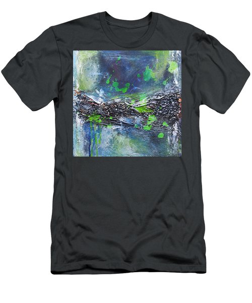 Sea World Men's T-Shirt (Slim Fit) by Nicole Nadeau