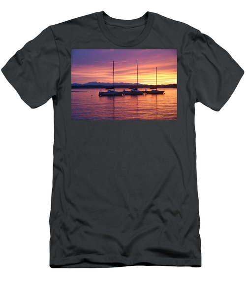 Serene Sunset Men's T-Shirt (Athletic Fit)