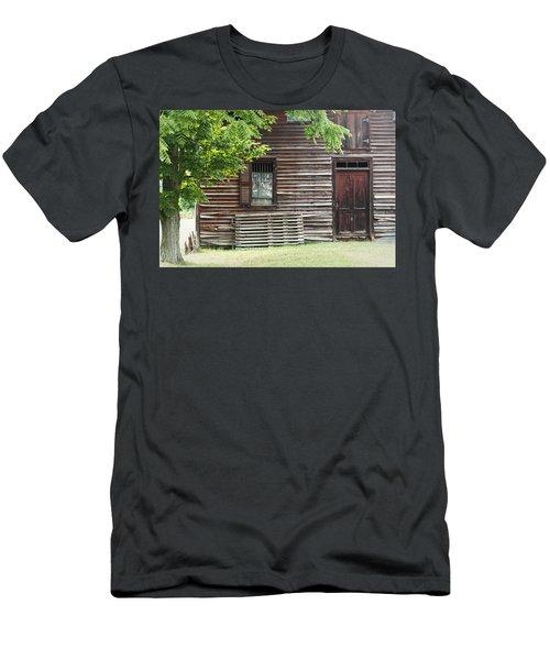 Simple Living Men's T-Shirt (Athletic Fit)