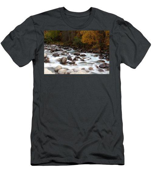 Smokey Water Men's T-Shirt (Athletic Fit)