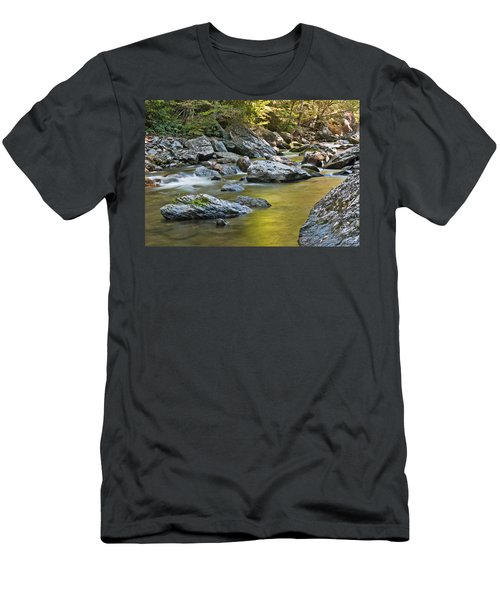 Smoky Mountain Streams II Men's T-Shirt (Athletic Fit)