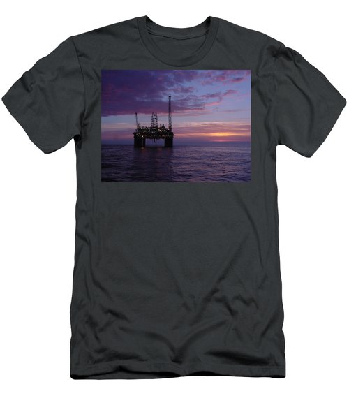 Snorre Sunset Men's T-Shirt (Athletic Fit)