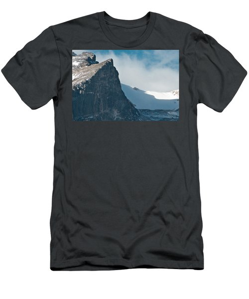 Snowy Flatirons Men's T-Shirt (Slim Fit) by Colleen Coccia