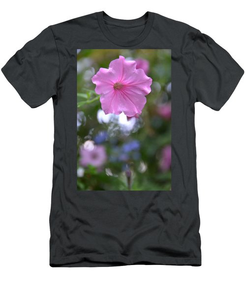 Soft Pink Men's T-Shirt (Athletic Fit)