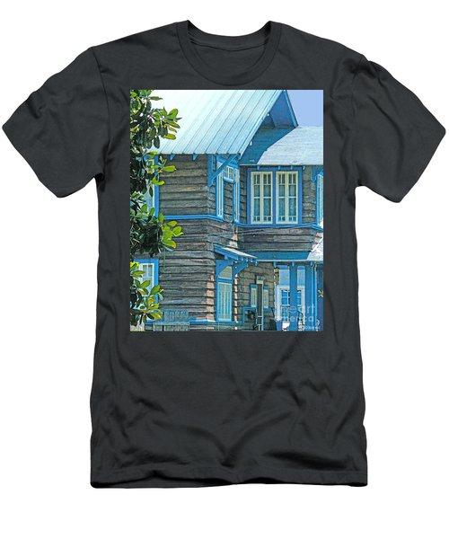 Spanish Town Blues  Men's T-Shirt (Athletic Fit)