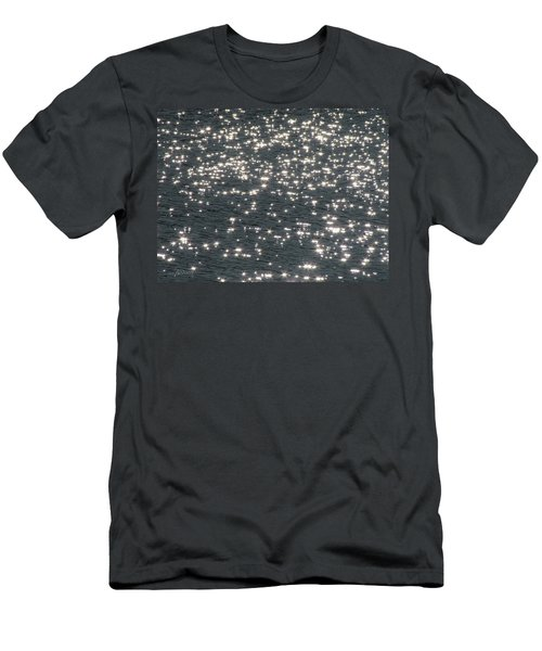 Shining Water Men's T-Shirt (Athletic Fit)