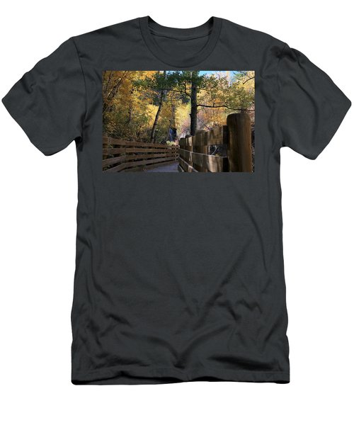 Spearfish Canyon Walkway Men's T-Shirt (Athletic Fit)
